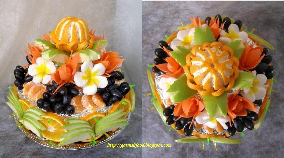 GarnishFoodBlog Fruit Carving Arrangements and Food Garnishes