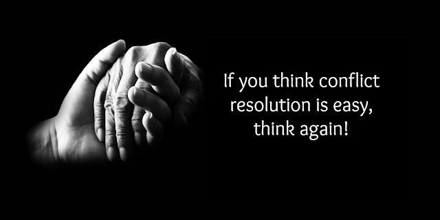 Have You Given up on Conflict Resolution?