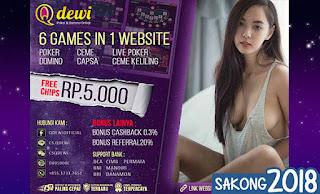 Keunggulan Agen Judi Poker Online QDewi.net