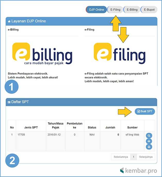 Cara Mudah Lapor Spt Tahunan Pajak Pribadi Via E Filing Online Blogger Blitar Its More Valuable Blog Content Bussines And Tips