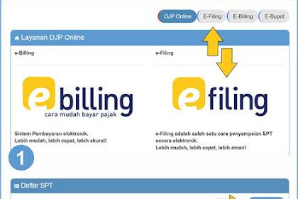 Cara Mudah Lapor SPT Tahunan Pajak Pribadi Via e-Filing Online