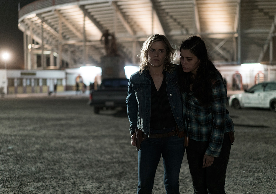Ofelia y Madison en el episodio 3x14 de Fear The Walking Dead