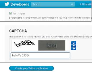 Cara Membuat Api Key Atau ID Aplikasi Di Twitter
