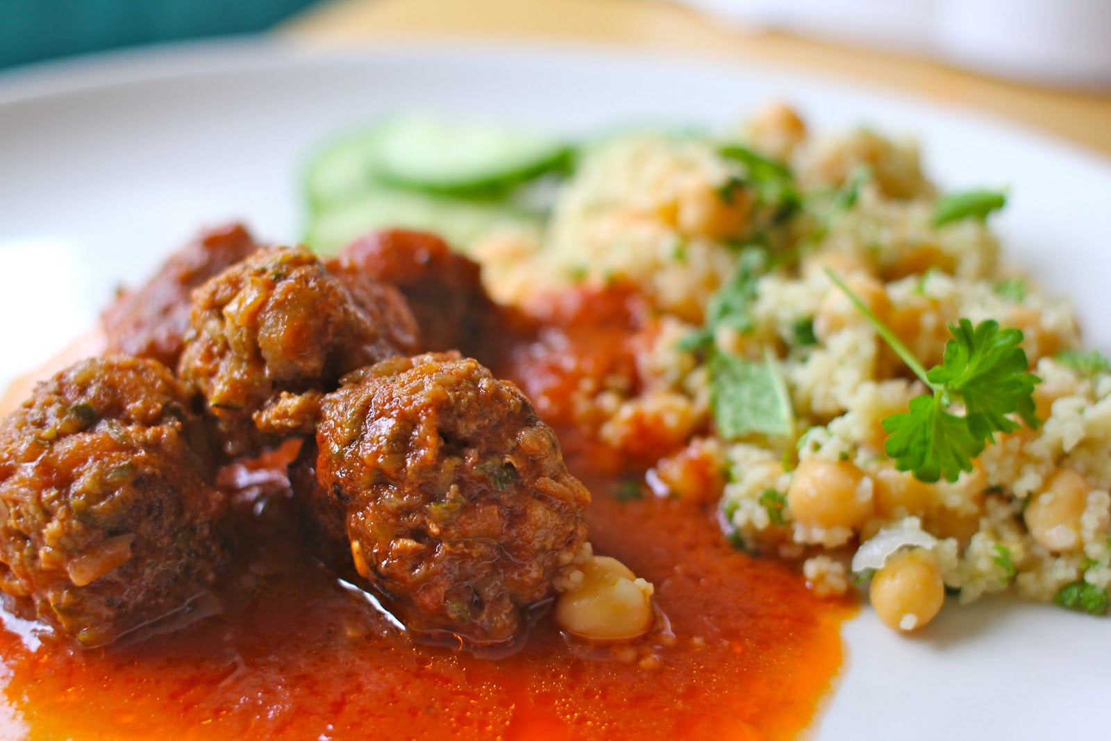 mamacook: Spicy(ish) Lamb Meatballs for the Whole Family