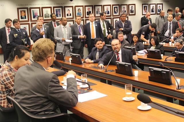 Reforma da previdência - Reunião com lideranças da GCMs, PF, PRF, PC, e Agentes Penitenciários