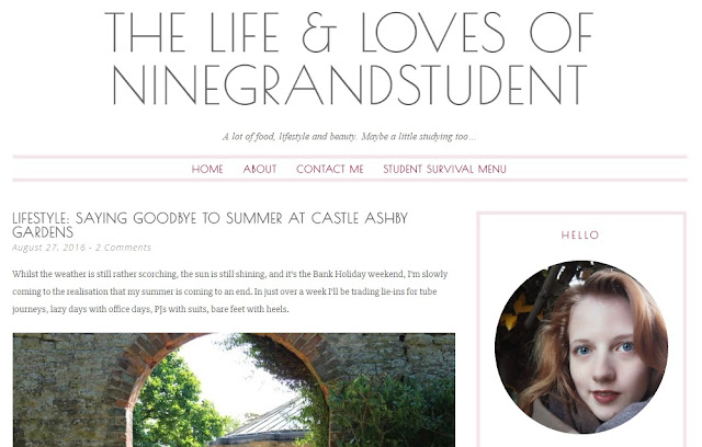 My 5 Favourite Bloggers, The Life & Loves Of NineGrandStudent, Chloe, Blog, Blogger