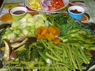 Boiled Vegetables Salad
