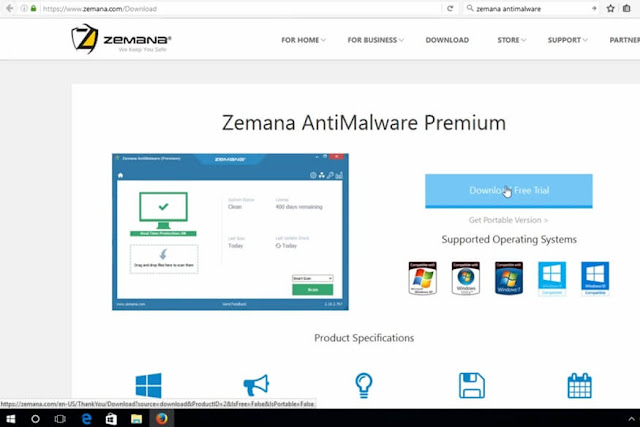 Zemana antimalware download