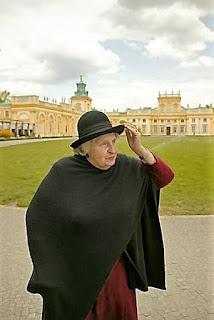 Anna Branicka-Wolska, ostatnia dziedziczka Wilanowa (Fot. Maciej Zienkiewicz)