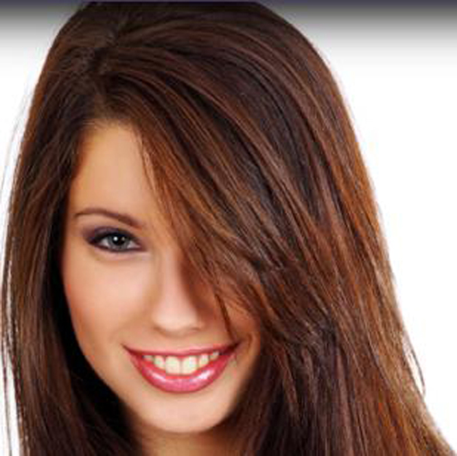 Cinnamon Brown Hair Color With Blonde Highlights