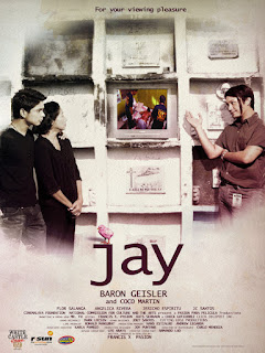 Jay is a Philippine independent film about a filmmaker who makes a documentary on the life of a murdered teacher, and in the process solves the crime.