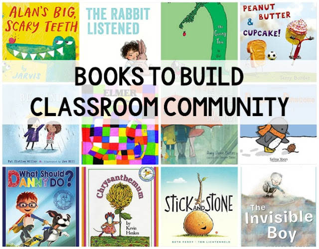Picture books that will build your classroom community