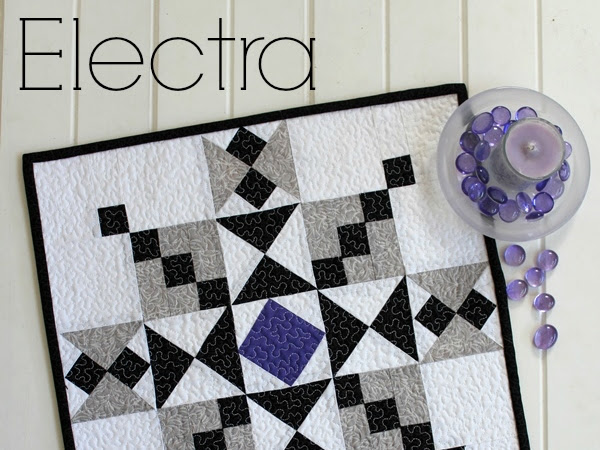 Electra Mini Quilt + Your Free February 2017 Calendar