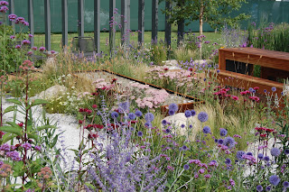 Jake Curley's garden at RHS Tatton