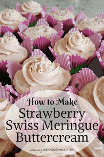 How to Make Strawberry Swiss Meringue Frosting