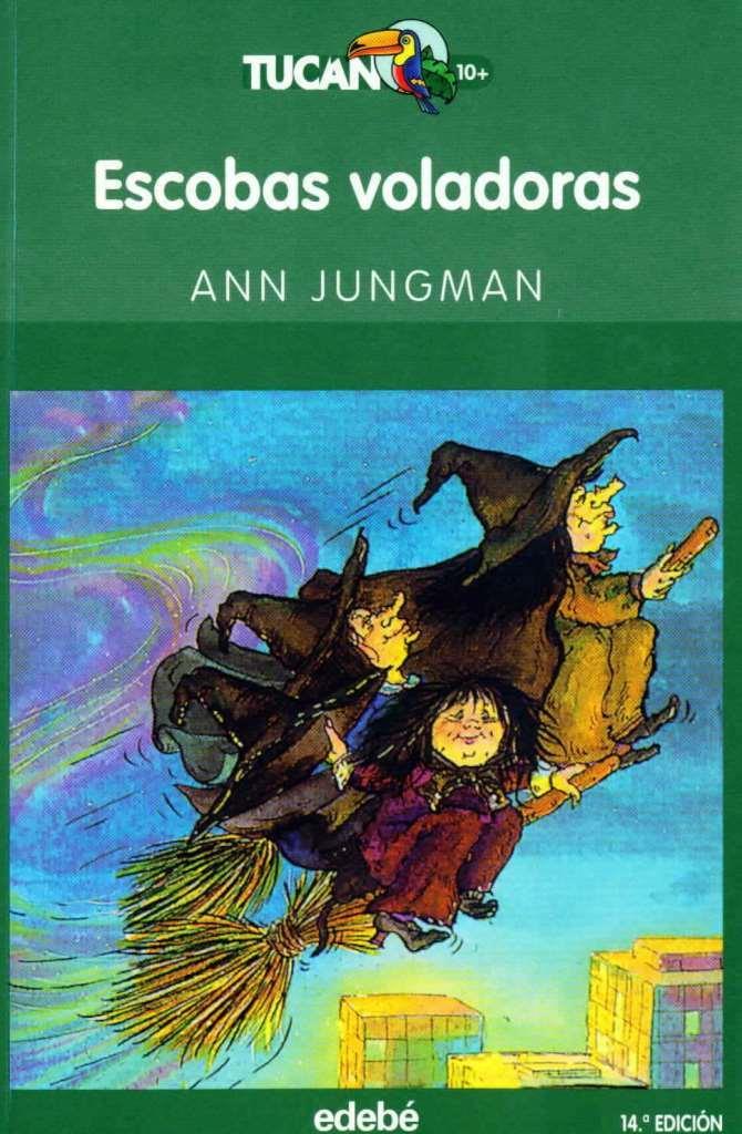 Escobas voladoras – Ann Jungman