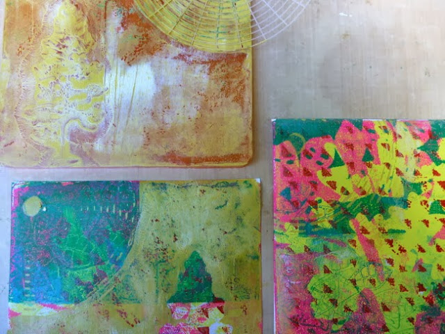 Gel Plate Monoprint Tutorial by Dana Tatar