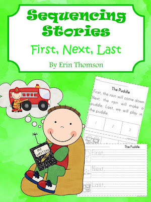 https://www.teacherspayteachers.com/Product/Sequencing-Stories-First-Next-Last-2104280