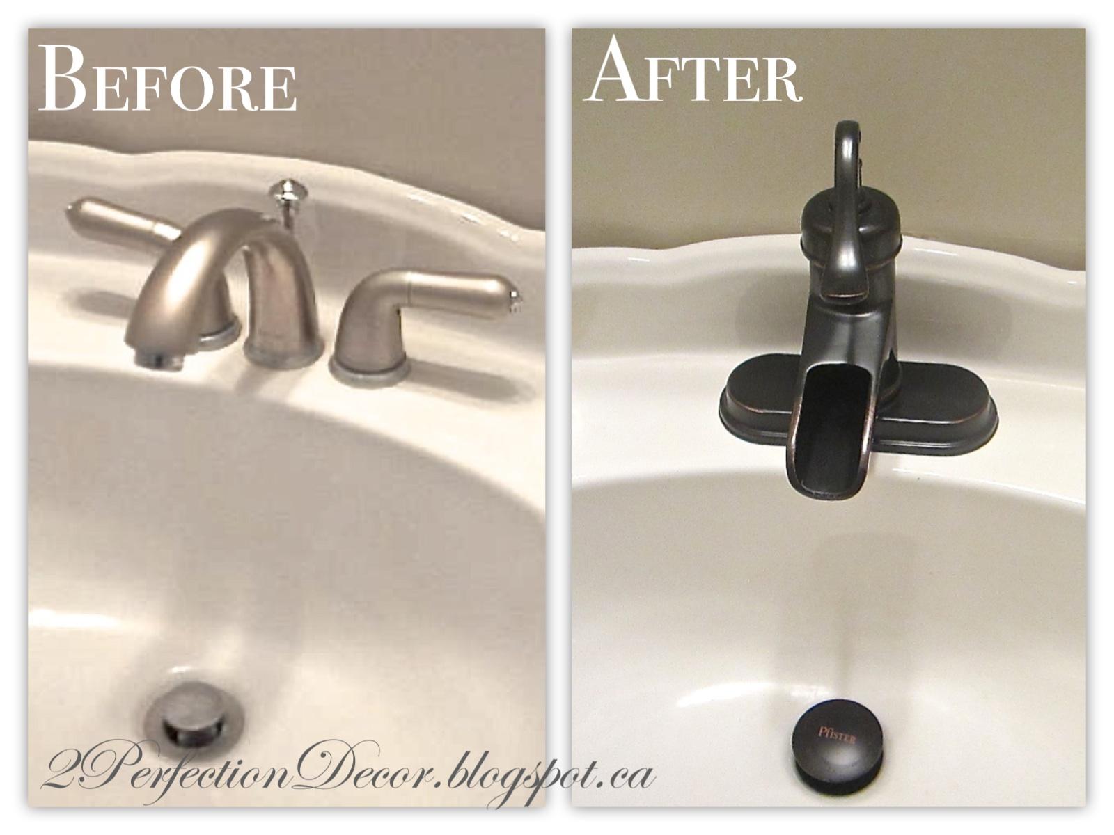 2perfection Decor Basement Coastal Bathroom Reveal: 2Perfection Decor: Powder Bath Updates