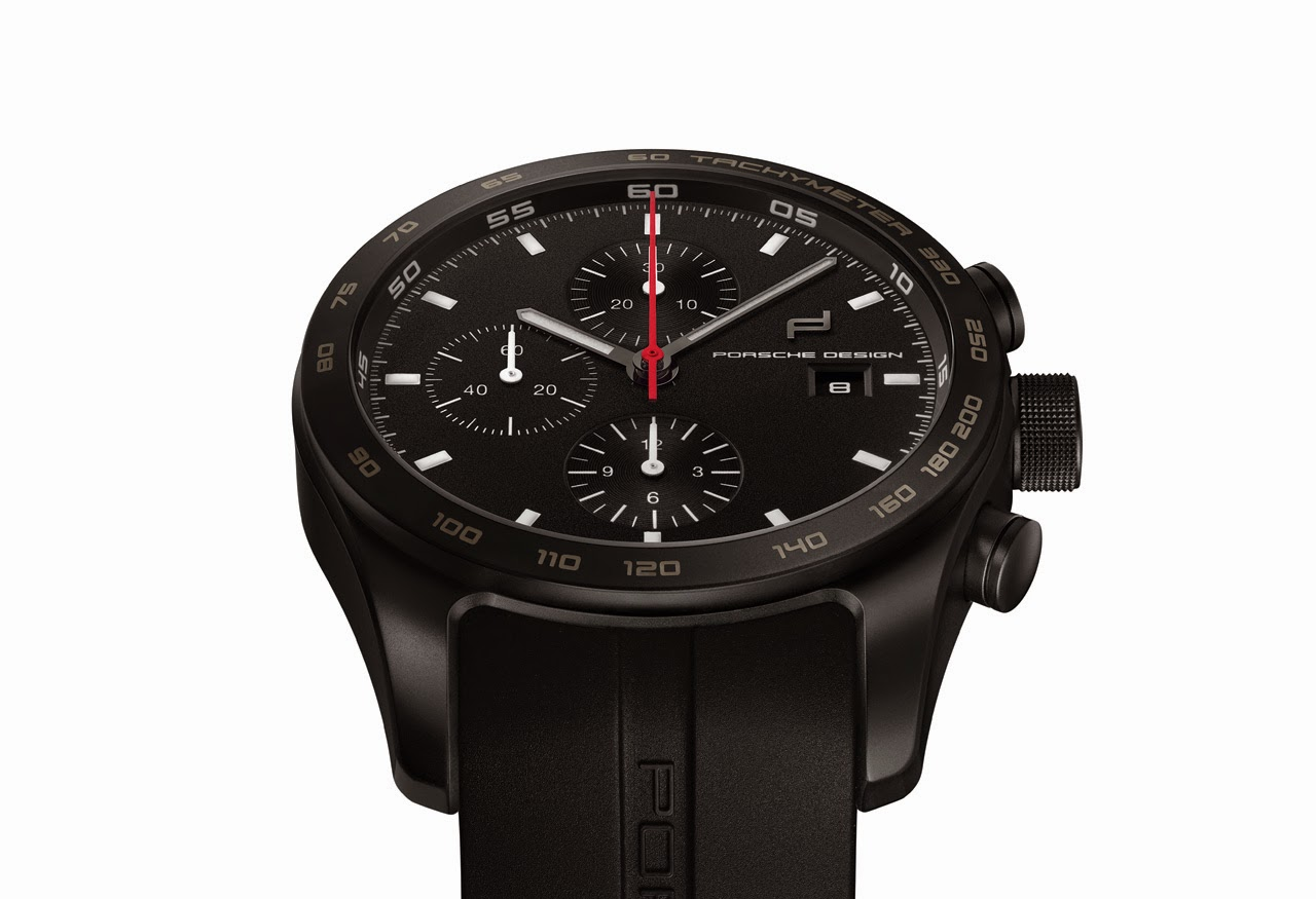 Porsche Design Timepiece No 1 And Chronograph Titanium