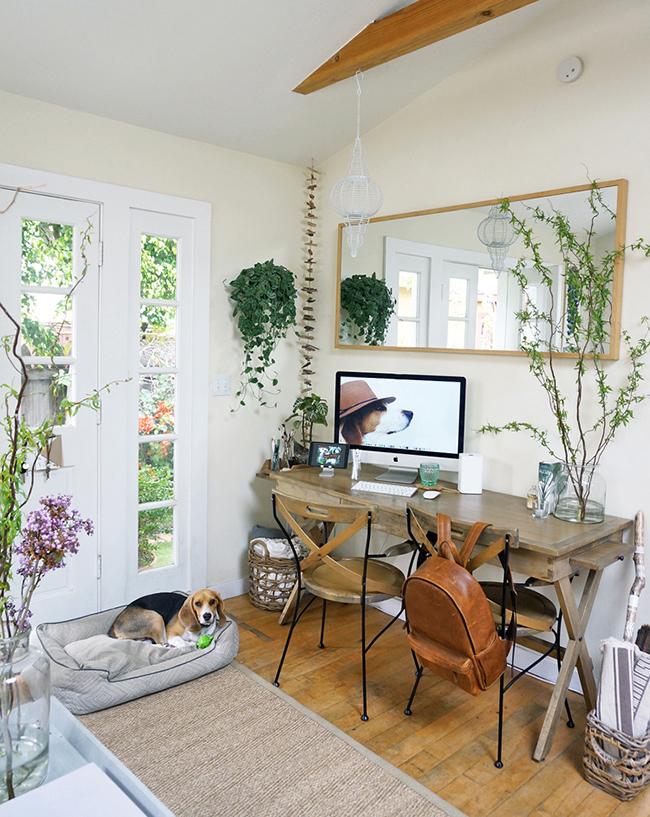 Vivir en menos de 40 m2 con un jardin encantado en for Decoration maison 40 m2