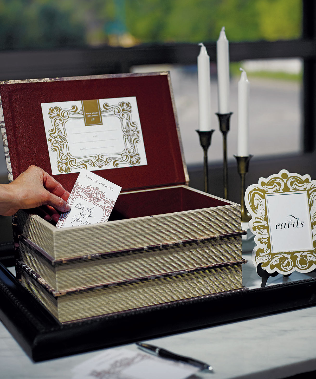 Wedding Card Boxes For Receptions: Unique Wedding Card Boxes