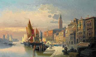 paisajes-costeros-en-cuadros-realistas panoramas-costeros-pinturas