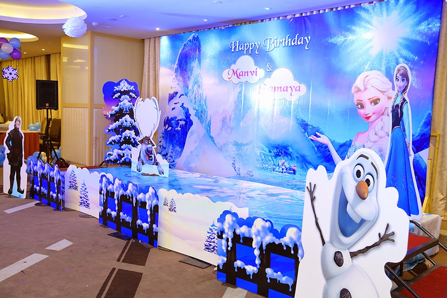 Tattooparty Frozen Theme Party