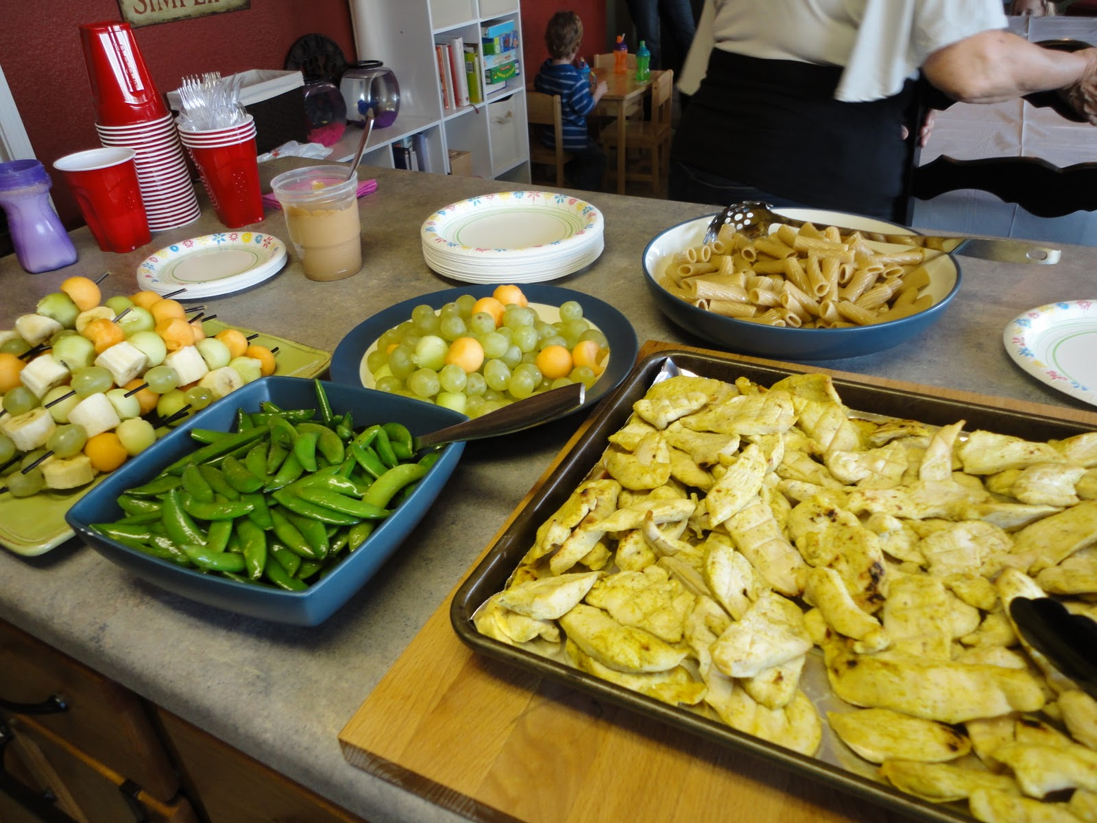 Birthday Party Finger Foods For Kids Photo