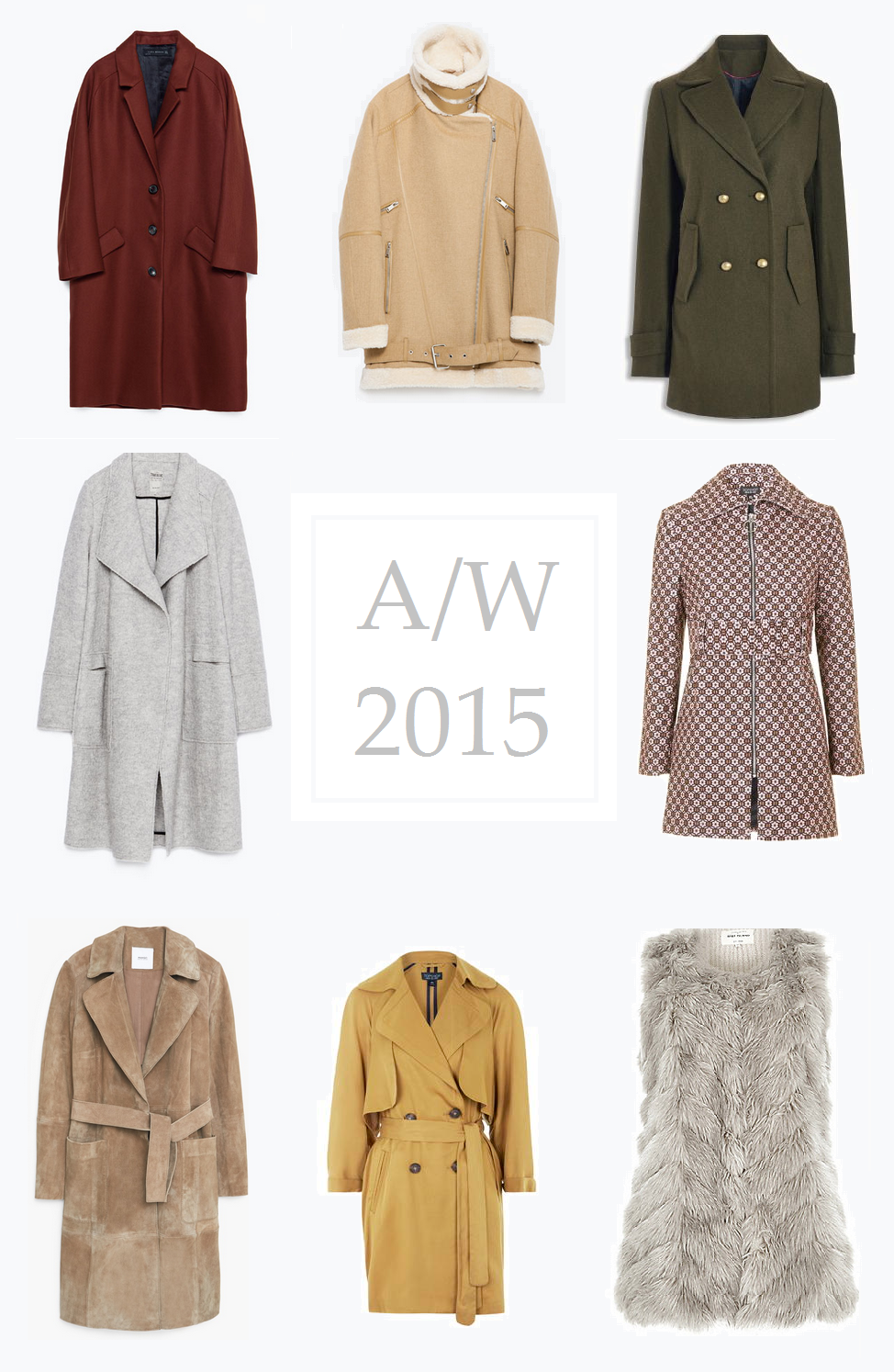 AUTUMN COATS 2015