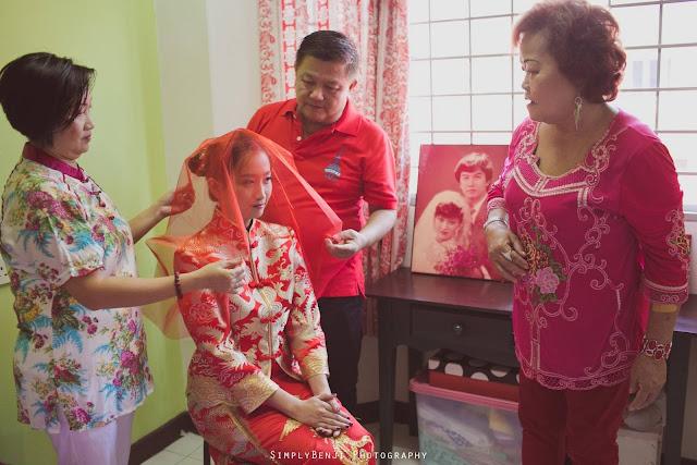 dai kam jie chinese wedding ritual