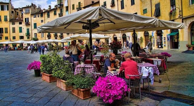Restaurantes em Lucca