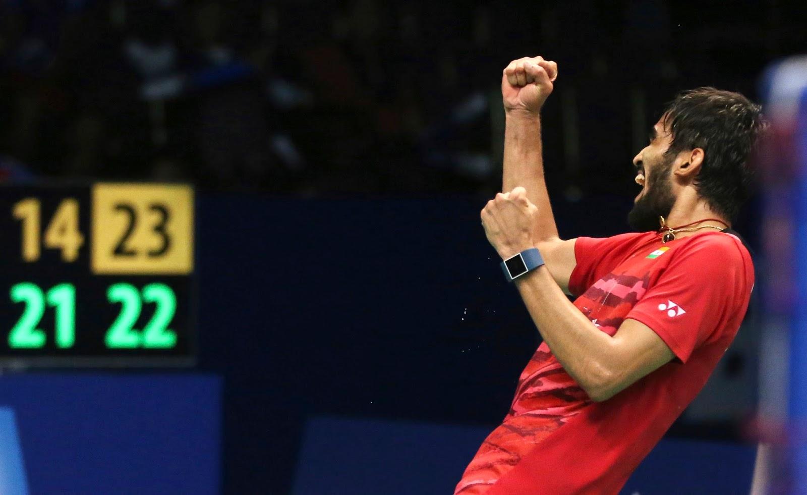 Srikanth Kidambi reaches his third consecutive super series final
