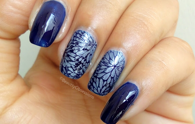 Flower Stamping Nailart tutorial | Ft. Beautybigbang (video inside)