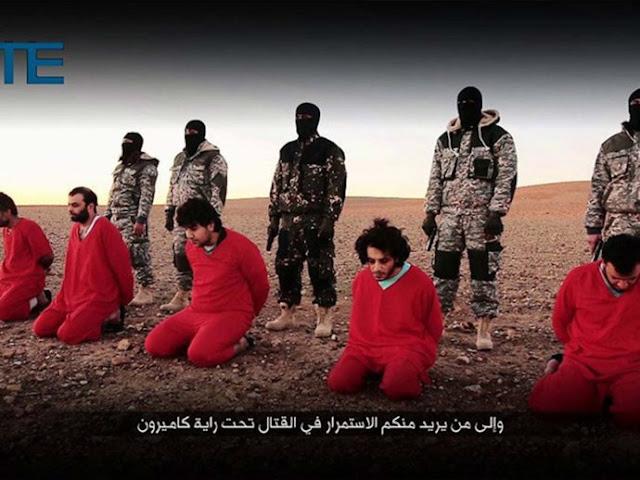 Estado Islâmico divulga vídeo com a execução de 'cinco espiões britânicos'