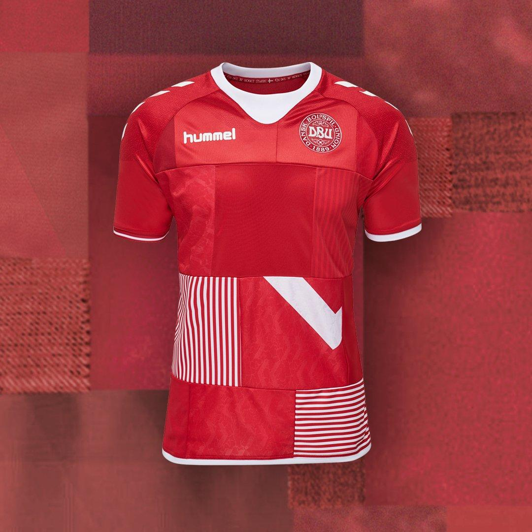 f3b57a173 Created by Hummel from classic Denmark jerseys sourced from fans of the  team
