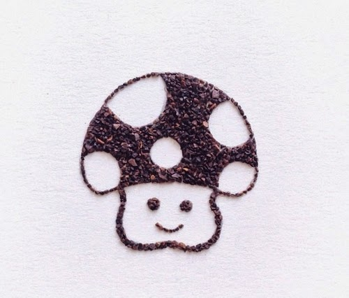 16-Mr-Mushroom-Coffee-Grinds-Drawings-Liv-Buranday-www-designstack-co