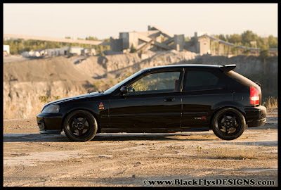 Modified Honda Civic Custom