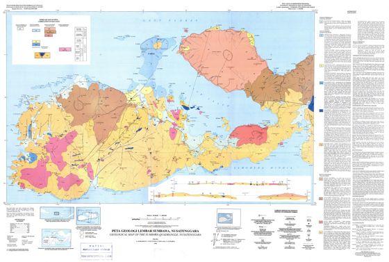 Peta Geologi Sumbawa Nusa Tenggara : Download dan Resume