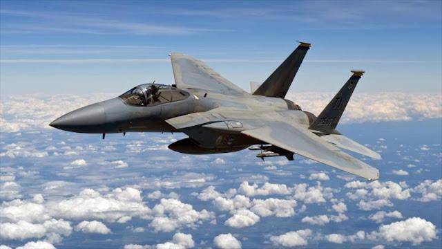 Un caza F-15 de EEUU se estrella cerca de Okinawa