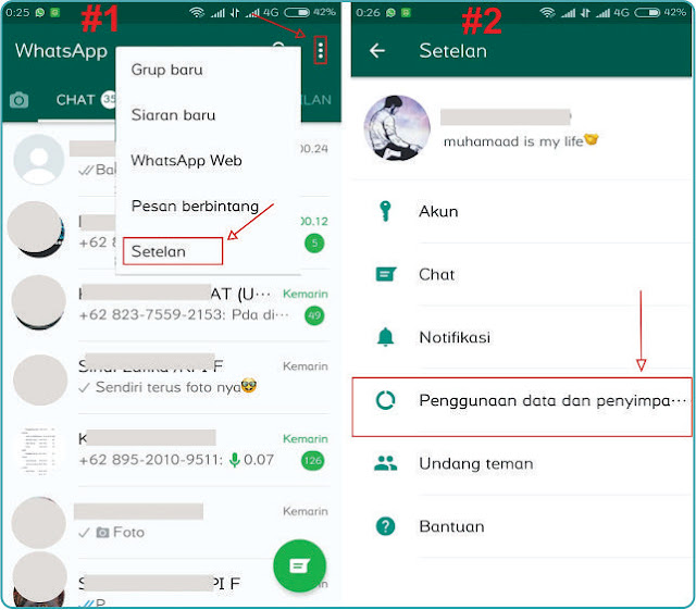 Cara Agar Foto Whatsapp Tidak Tersimpan Otomatis Ke Galeri Hp