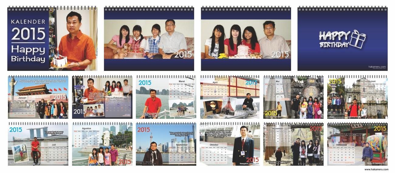 Cetak kalender meja satuan hakameru.com jasa desain grafis online