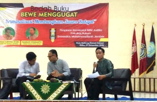 Bedah Buku BEWE Menggugat, Bambang Widjojanto: Pemuda Berperan Penting Dalam Perubahan Bangsa