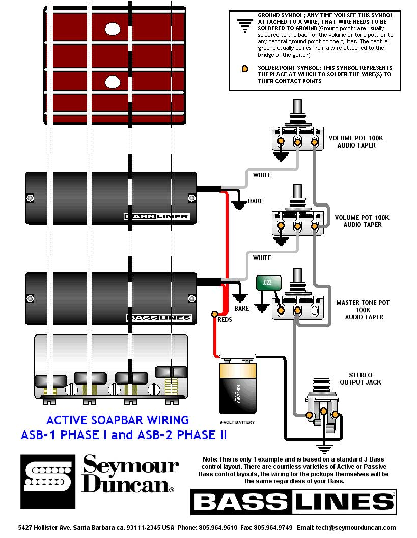 hight resolution of wrg 2562 soap bar bass pickups humbucker wiring diagram contoh wiring gitar bass