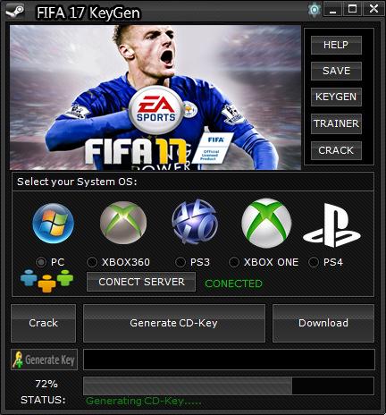 fifa 16 cd key generator online