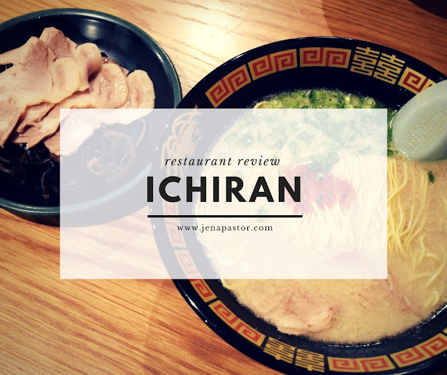 restaurant review ichiran