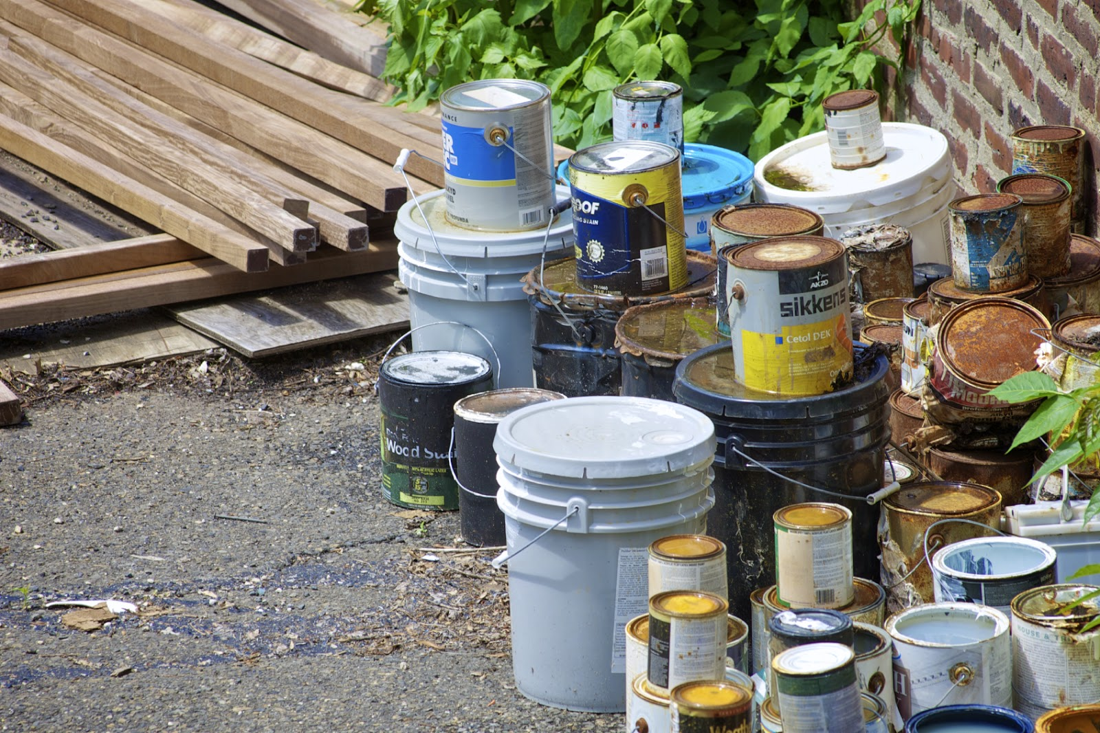 Waste-Away Group : How Do I Store and Dispose of Used Paint?