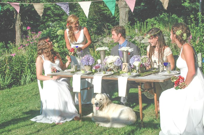 Several Weeks Ago I Had The Pleasure Of Photographing A Styled Bridal Shoot With Team Amazing Women Shot In My Own Garden