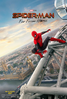 Spider-Man: Far From Home London poster