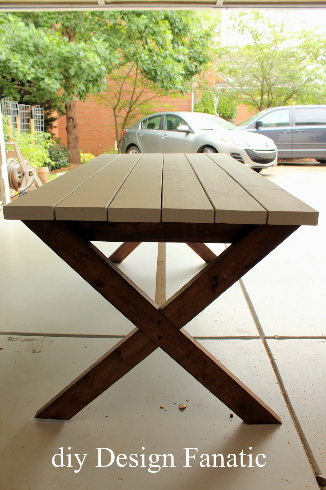 Diy Picnic Table , Farmhouse, Cottage, Deck, Build A Picnic Table, Diy